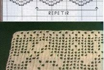 barrados de crochet