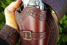 Holsters and gunslings