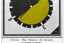 Tennis24 / Game Set And Match - Logotype Presentation / http://visionart-archive.com/graphic_design/tennis24/logotype_presentation/
