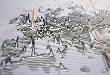 Map / Inspiration de design de cartes