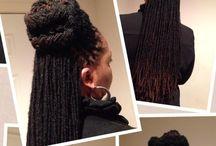 Zatočené Pramínky Vlasů naty