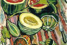 Kitchen sink realism / Группа британских мастеров реалистического направления 1950-х годов, в чьем творчестве разрабатывалась тематика домашней повседневности. Основными объектами художников были окружающие их предметы, начиная с кухонных раковин и столов, заканчивая туалетами и задворками. Jack Smith, Edward Middleditch, Derrick Greaves, John Bratby