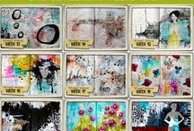 Mixed Media Journal Examples