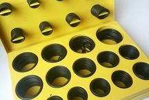 O rings / Orings de línea, estuches, y fabricación especial