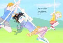 Jasmine's Antics / Characters from my books