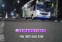 Sewa Bus Solo Murah / Bus Pariwisata di Solo Harga Murah