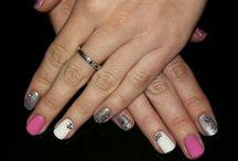 my nails..