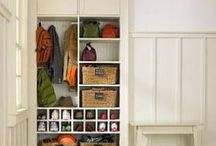 mudrooms / ideas for mudrooms and cubbies