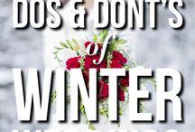Winter Weddings / 0