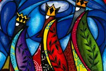 Stained Glass / Three Wise Men