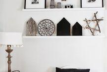 Slaapkamer zwart wit / Slaapkamer zwart wit