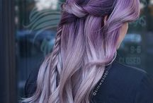Metallics Hair Colours