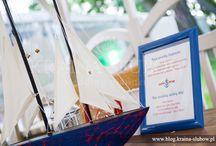 Nautica wedding / żeglarskie wesele / Organizacja i koordynacja - Kraina Ślubów, Wedding Planners
