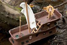 piraten knutselen