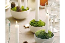 HOLIDAYS: TABLESCAPES / How do you dress your table for dinner?