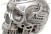 Head Skelethon Iron