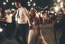 Sendoff Ideas / Get sent off after the reception in a fun and stylish way. Get inspired with these ideas.
