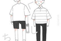 Korean Illustrations