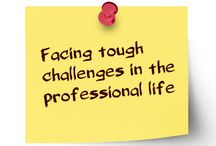 Facing tough challenges in the professional life / The most important factor in facing a challenge effectively is making the right choice. At times people come face to face with a number of choices and the trick is to make the right choice.