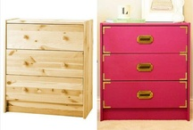 Old Furniture Into New / DIY is not hard, just look around your room & you can re-do any piece you see. Use this board as inspiration for your furniture &  use our products to make it happen.