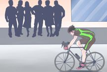 my favorite article... safety first - fashion second ! / http://www.wikihow.com/Be-Visible-on-the-Road-when-Bicycle-Commuting