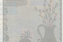 Crochet - Cortinas