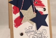 Stampin' Up! Patriotic / American patriotic cards, projects, and ideas using Stampin' Up! products. / by Krystal's Cards - Stampin' Up!