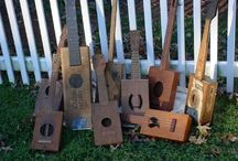 Ellie's backyard music wall