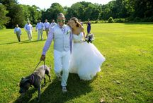 Coindre Hall Long Island  wedding / Real bride Sabrina Sabella wore Essense of Australia gown.