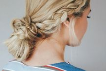 Work hairstyle