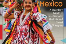 Mexico Textiles / Intricate textile, weaving and natural dyes of Mexico created by talented artisans from indigenous villages and sophisticated cities.