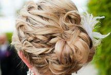 Winter Wedding hair