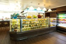 Panini Displays / Food is visual ... display it right you sell it simple as that .