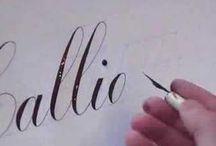 Calligraphy / by Amanda Young