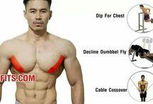 Building men's chest
