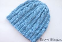 Шапки, шарфы, варежки... / Вязаные аксессуары: шапочки, шарфы, варежки. Best knitting hats, scarves, mittens