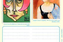 Me encanta escribir en español: Retratos de mujeres (adjetivos de descripción)