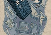 Doctor who / Blue box and ets