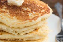 Baking. Pancakes, crepes