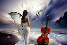 Cello tattoo ideeën