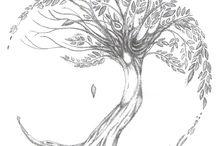 tattoo sleeve / tree of life