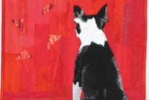 boston terriers...must love dogs❤️ / Boston Terrier Dogs / by Dara Lynn Fotias