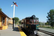The Trains of Carson City / The Nevada State Railroad Museum and The V & T Railway offer interactive trips back into time with a look into the history of travel on the Comstock.