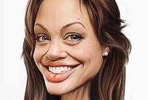 caricature women