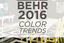 Colour and decor trends 2016 / The latest colour and decor trends for 2016