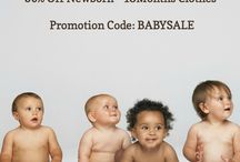 Semi-Annual Baby Sale! / Our Semi-Annual Baby Sale is happening now! Enjoy 30% Off ALL Newborn - 18Month Clothes! Use code: BABYSALE at checkout! / by Moxie Jean