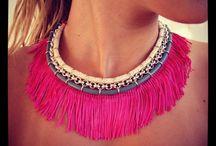 SS12 Collection / Klaidra fringe necklace #ethnic #fringe #necklace #bohemian