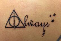 Harry Potter Dövmeleri