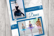 Dance Memory Mate Photography Photoshop Template