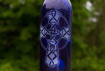 Wine Bottle Windchimes / by Shawnee Blancet